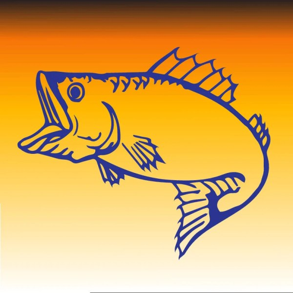 Fishing Svg Bass Fish Vector Files