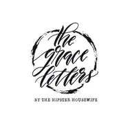 The Grace Letters: Hand painted bibles by TheHipsterHousewife