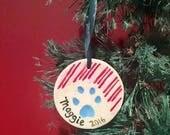 Ceramic Ornament, Round P...