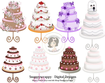 Cake Clipart Etsy