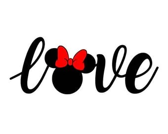Download Minnie mouse svg   Etsy