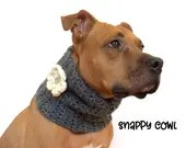 Crochet Cowl for Dogs wit...