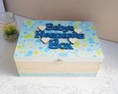 Keepsake box, Baby box, B...