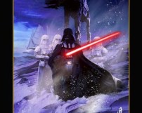 "16""x20"" Vader Arrives On Hoth"