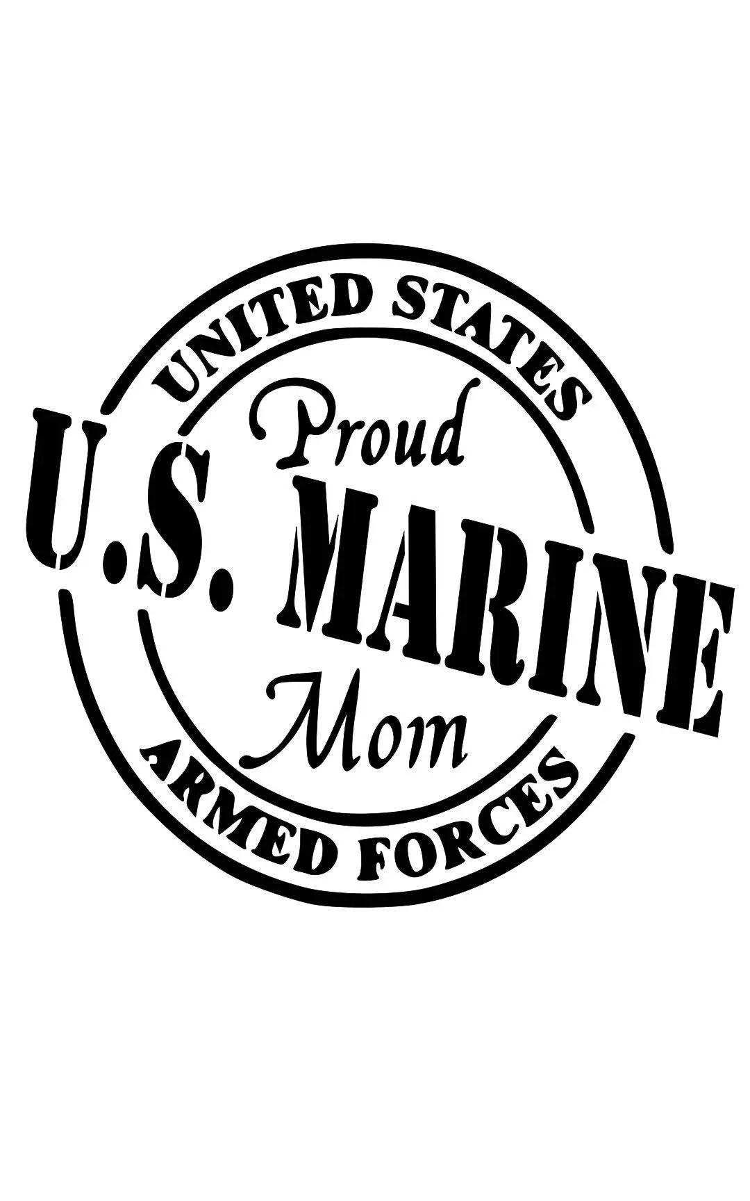 marine mom decal yeti Marine Corps Love Decal Marine