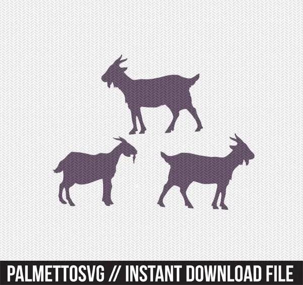 goat svg file