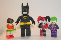 Lego Batman Edible Cupcake Toppers - Year of Clean Water