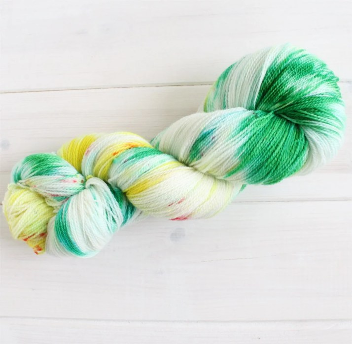 Hand dyed yarn We Grow St...