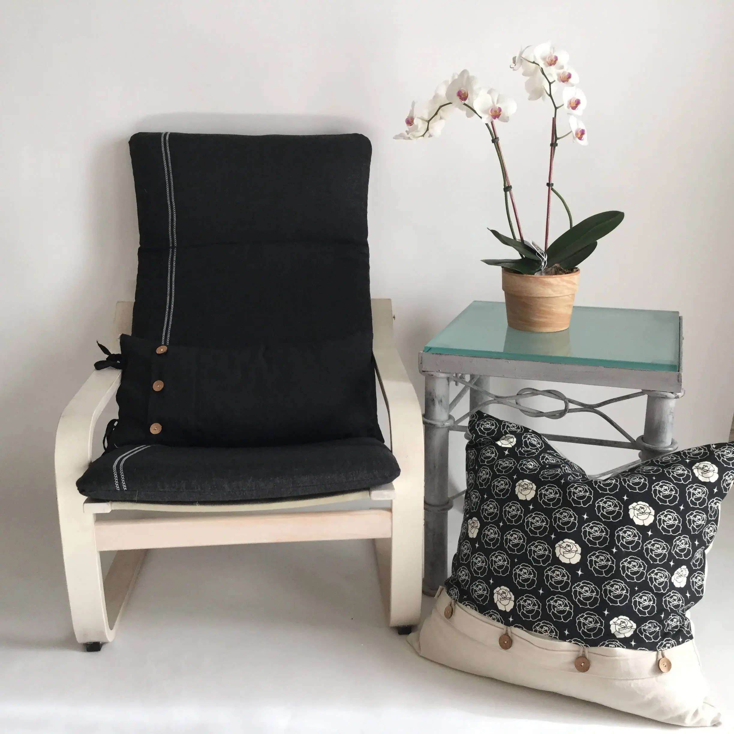 poang chair covers etsy regalo portable high cover  