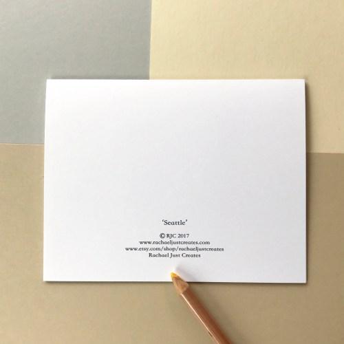 Blank Note Cards In Rummy Envelopes Seattle Seattle Seattle