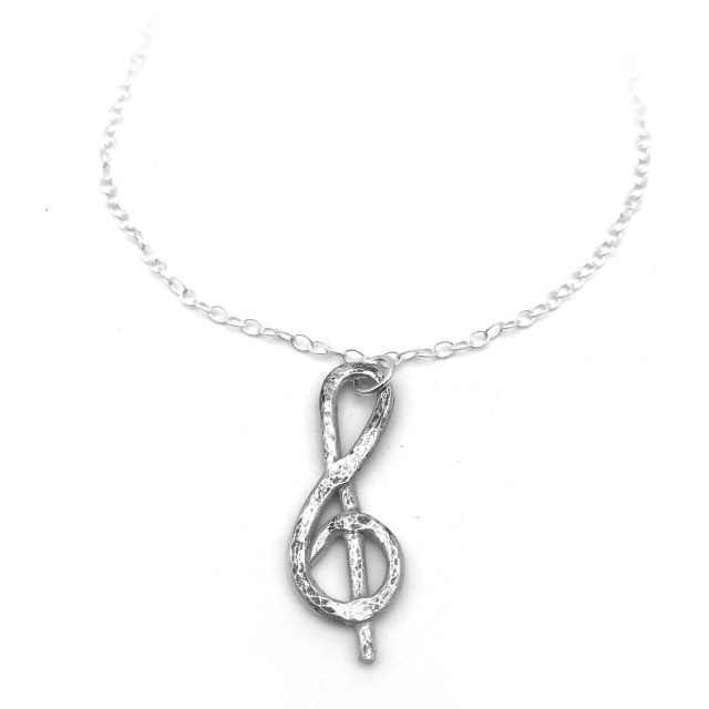 Handcrafted Silver Music ...