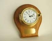 Barigo marine clock, bras...