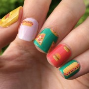 fries guys fast food nail