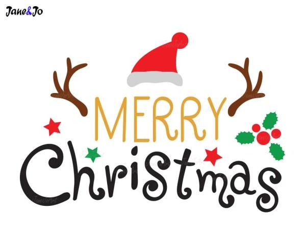 merry christmas svg xmas