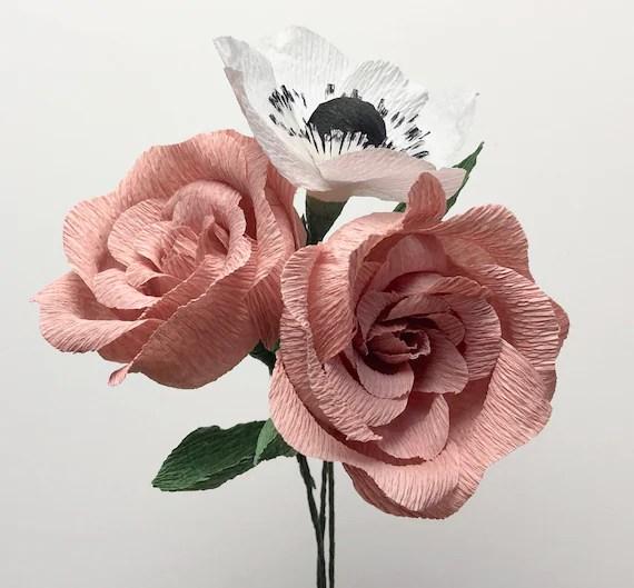 Alice Rose Paper Bouquet