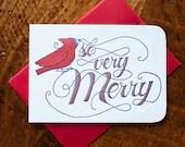So Very Merry - Card...