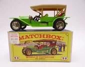 MIB 1960s  Vintage Matchb...
