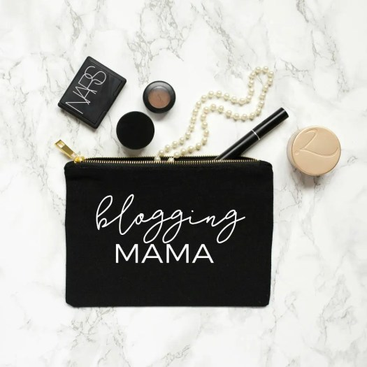 blogging mama make up case bloggers christmas