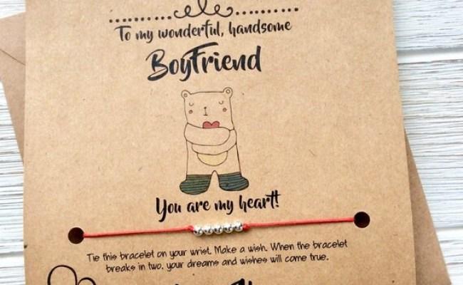 Long Distance Boyfriend Gifts Boyfriend Birthday Card