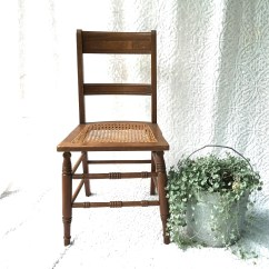 Cane Bottom Chairs Cafe Johannesburg Vintage Wooden Chair Caned Wood Kitchen