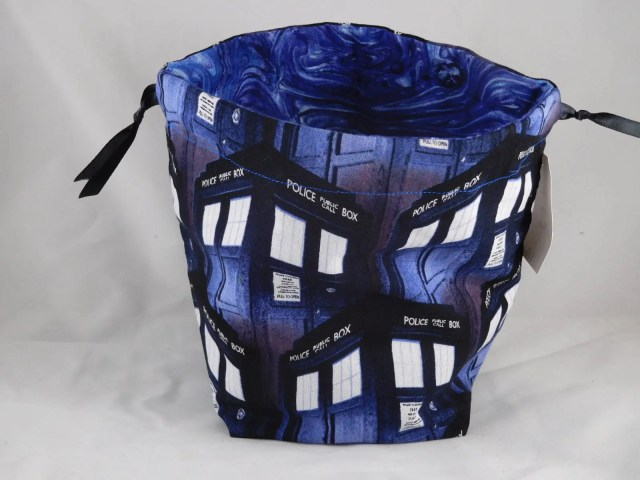 Tardis Drawstring Bag per...