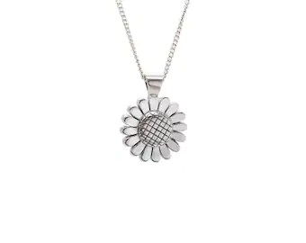Daisy Pendant Choose your Color and Size