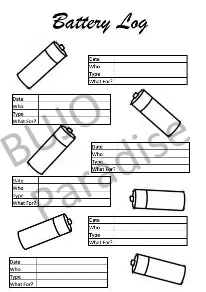 Bullet Journal Level 10 life Printable BUJO