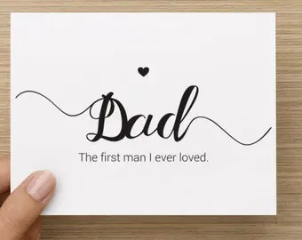 Download Wedding Card to Your Dad Father of the Bride Cards To the