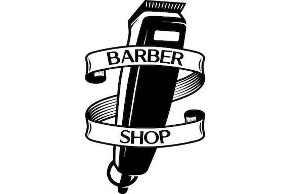 barber logo #3 salon haircut