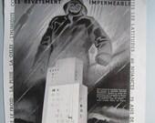 Art Deco print, Vintage F...