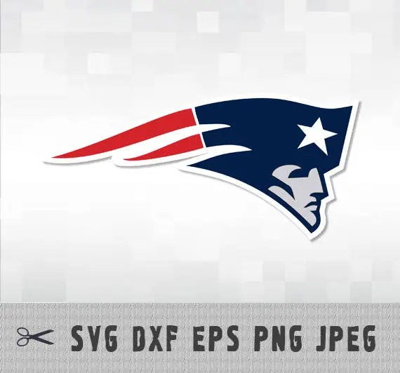 Download New England Patriots SVG PNG DXF Logo Layered Vector Cut ...
