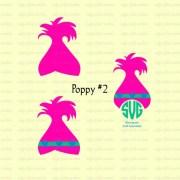trolls svg poppy birthday