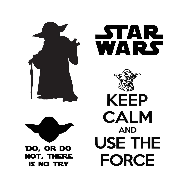 Star Wars Svg Master Yoda Svg Svg Dxf Vector Cut File