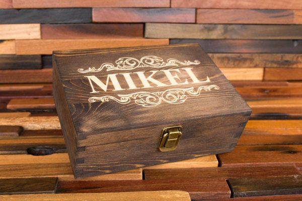 Engraved Wooden Keepsake Boxes