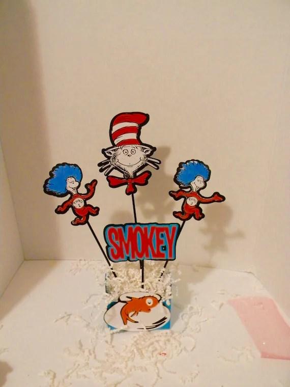 Dr Seuss Birthday Dr Seuss Centerpieces Dr Seuss Table