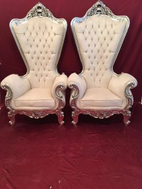 RESERVED* Italian Baroque Throne Chair High-Back ...