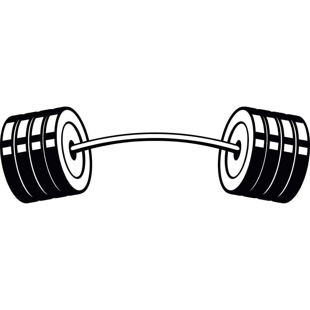 Barbell 4 Curved Bar Weightlifting Bodybuilding Fitness