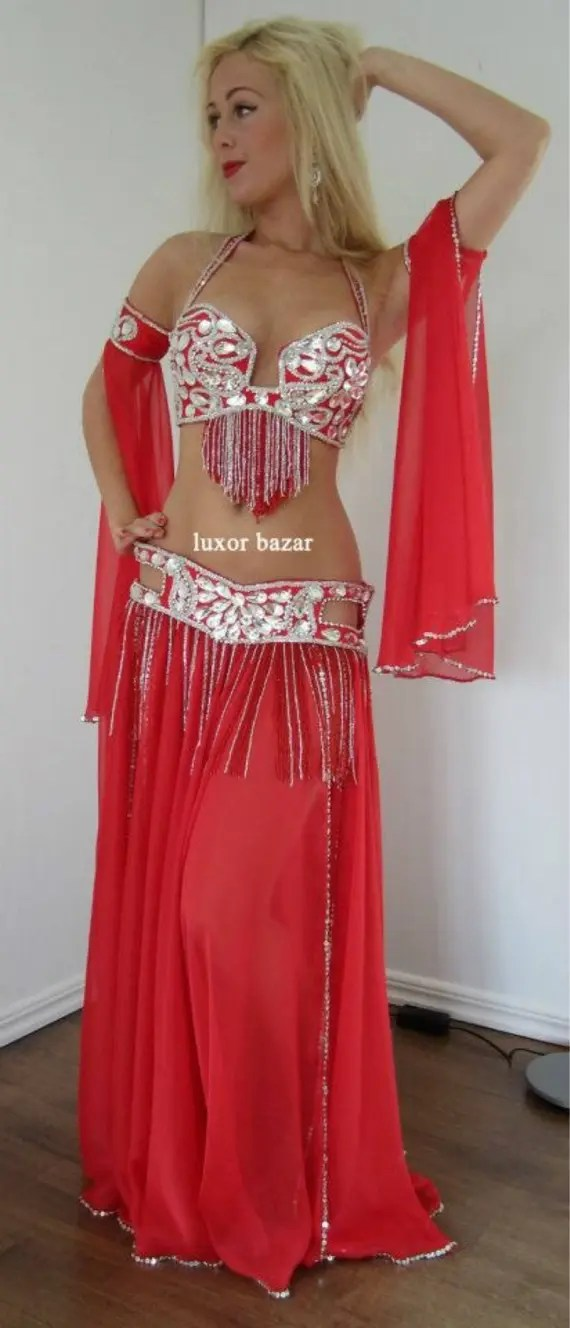 Professional Belly Dance Costume From Egypt BELLYDANCE Custom