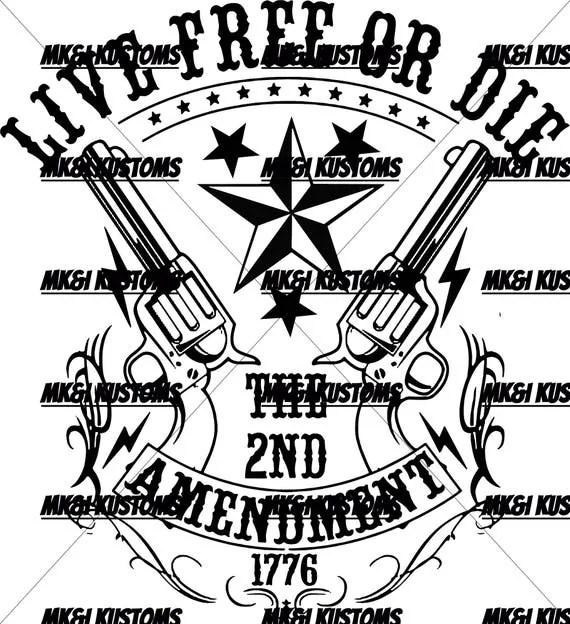 Patriotic Svg/2nd Amendment Svg/Patriotic Vector/4th of