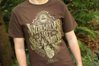 Werewolves Not Swearwolves T-Shirt What We Do In The Shadows
