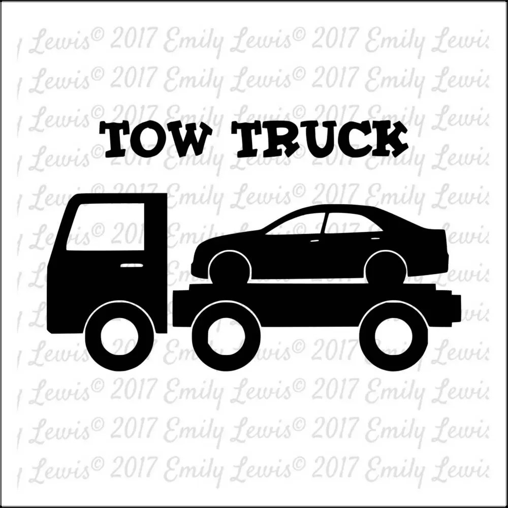 Tow Truck SVG Tow Truck SVGs truck clipart truck svgs
