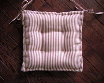chair cushions with ties ikea wheelchair loan pads | etsy