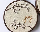 Joy // Hand Embroidered H...