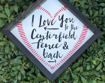 Download Centerfield baseball | Etsy
