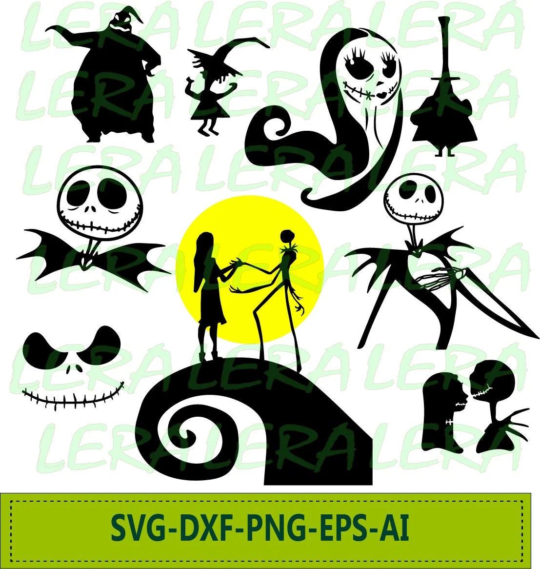 Download 60 % OFF Nightmare Before Christmas SVG Jack Skellington