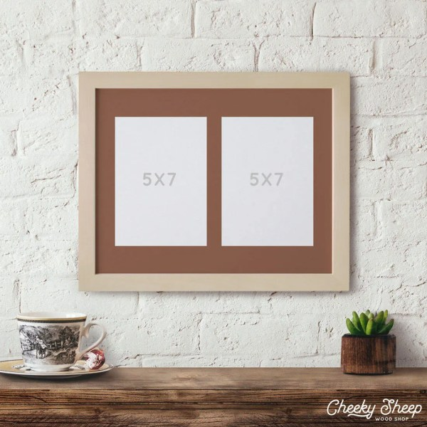 10x13 Matted Frame 2 - 5x7 5 X 7 Multiple