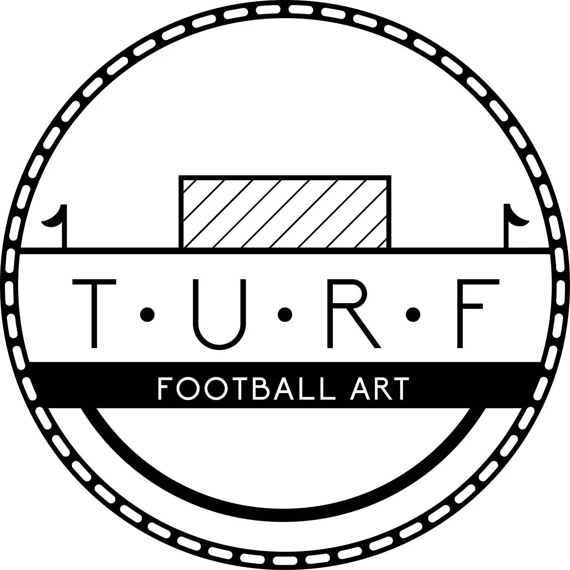 Custom Football Print Stadium Art Soccer Art Football