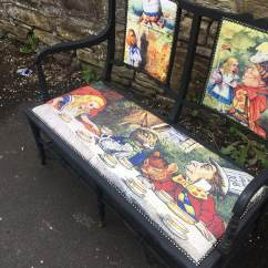 Alice In Wonderland Chair Dining Table Chairs Set Of 4 Furniture Mad Hatter Antique