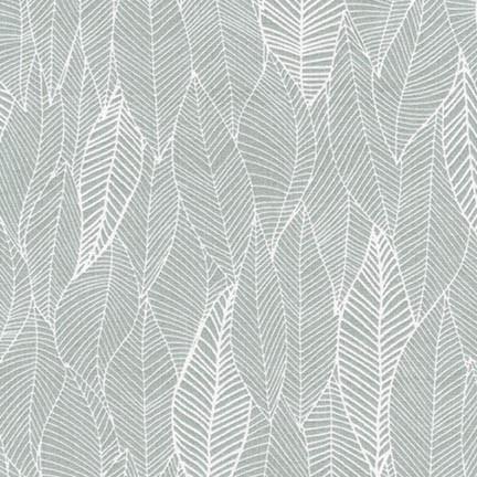 Robert Kaufman Fabric, Feather Fabric, Choose Black