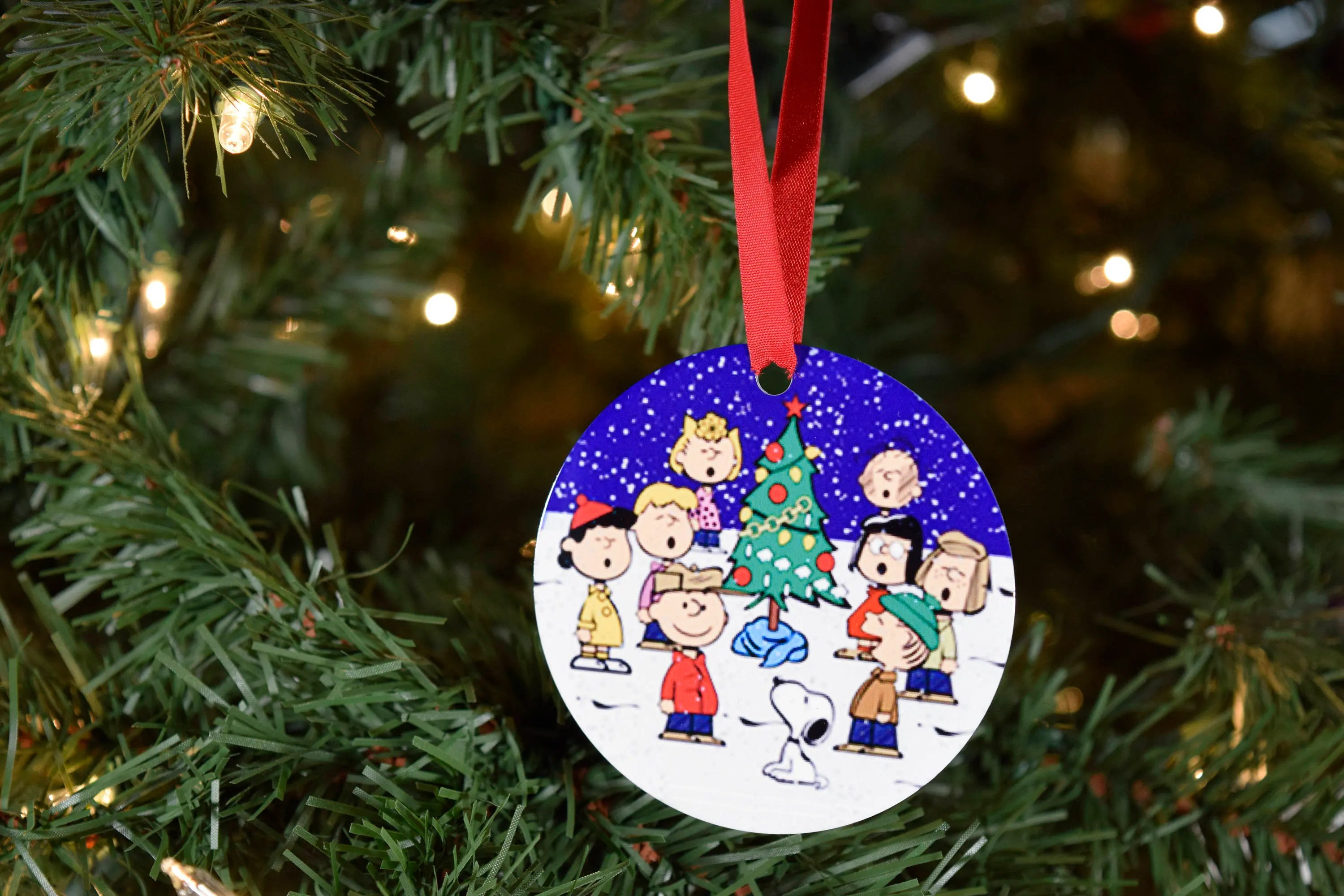 Snoopy Ornament Charlie Brown Ornament Peanuts Snoopy And